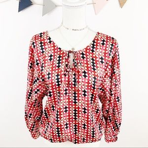 Laundry by Shelli Segal Multicolored Blouse